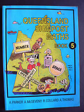 Queensland Signpost Maths 5 by A. McSeveny, A. Parker (Paperback, 1994)
