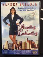 DVD - Comme neuf - BROUILLES ET EMBROUILLES -Zone 2 - SANDRA BULLOCK