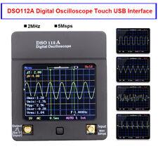 DSO112A Digital Oscilloscope Portable Handheld TFT Multimeter Tester 2MHz 5Msps