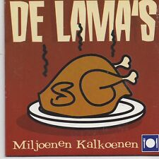 De Lamas-Miljoenen Kalkoenen cd single