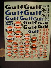 "DECALS 1/24 PETROLIER "" GULF "" -  T109"