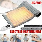 Electric Heating Pad Timer For Shoulder Neck Back Spine Leg Pain Relief Winter