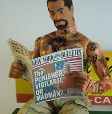 1/6 Scale Custom Newspaper New York Bulletin #5 for Punisher and friends
