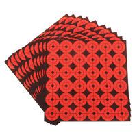 360pcs Self Adhesive Target Spots 10 Sheets Shooting Targets Orange Dia. 1in