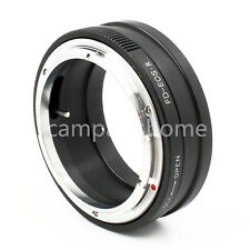 Canon FD lens to Canon EOS R RF mount full frame adapter Aperture control
