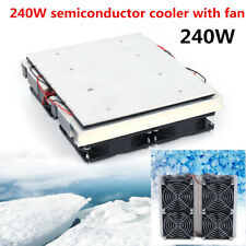 Semiconductor Peltier Cold Cooling Cooler Fan Refrigeration Plate Cooler 240w