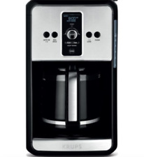 KRUPS Savoy Turbo 12 Cup Programmable Coffee Maker Adjustable Strength