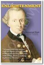 German Philosopher Immanuel Kant - Social Studies Classroom NEW School POSTER