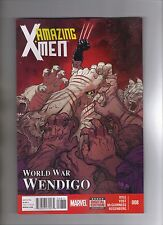 AMAZING X-MEN #8 - ED MCGUINNESS ART & COVER - MARVEL NOW! - 2014