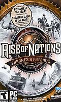 Rise of Nations: Thrones & Patriots (PC, 2004)