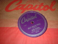 78RPM Capitol 15174 Spike Haskell, Jolly Miller Polka / Barnyard Blues E- to E