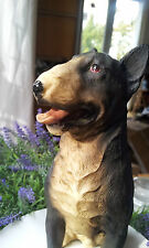 Hund Prachtkerl ! Bullterrier Bull Terrier Schwarz Clayre&Eef Figur Dekofigur