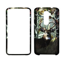 LG D802 G2 Camo Deer Conifer Case Cover Hard Phone  Cover