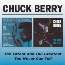 The Latest and the Greatest/You Never Can Tell... by Chuck Berry (CD,...