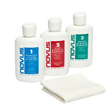 NOVUS 7136 Plastic Polish Kit - 2 oz., New Scratch Remover &  Polish Mate Wipes