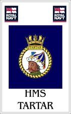 HMS Tartar Royal Navy crested Fridge Magnet