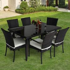 Outsunny 7 Pieces Garden & Patio Furniture Sets