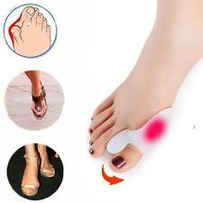 2 x Silikon Hallux Valgus Zehenspreizer Reibungsschutz Ballenschutz Fußbandage