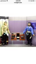 Star Trek Mego Mirror transporter set  Captain Kirk &Mr Spock #3742 limited