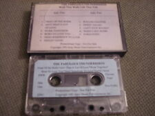 RARE ADV PROMO Fabulous Thunderbirds CASSETTE TAPE Walk That Walk Talk That Talk