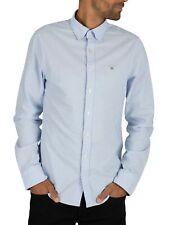 Gant Men's Button Down Oxford Shirt, Blue