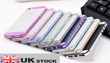 Iphone 5 / 5s Luxury Brillo Bling parachoques lado Cuerpo Piel etiqueta engomada del Reino Unido Vendedor