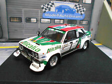 FIAT 131 Abarth Rally Safari 1979 #7 Munari Maiga Alitalia PIRELLI Trofeu 1:43