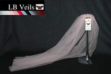 Blush Pink Crystal Veil Wedding Any Length Sparkle Single Tier LBV158 LB Veils