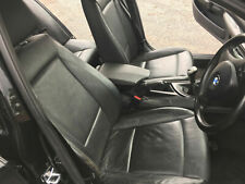 BMW 1 SERIES E87 SE 2004–2011 BLACK LEATHER HEATED SEATS AND DOOR CARDS