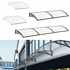 Modern Canopy Window Front Back Porch Overhead Roof Rain Cover Outdoor Shad