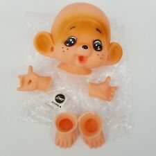 vintage Zim's Dollmaking Parts MONKEY DOLL Face Hands and Feet Zims Korea NOS