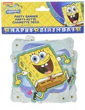 """Amscan - Festone di Spongebob con scritta """"happy Birthday"""""""