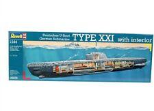 REVELL 05078 - 1/144 sous-marin allemand Type XXI avec interieur-Neuf