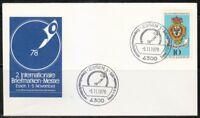 Germany 1978 cover SST Sonderstempel Essen Internationale Briefmarken-Messe