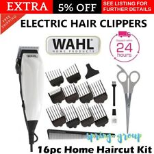WAHL Easycut Hair Clipper Trimmer Kit Mens 16Pc Electric Clippers Grooming Kit