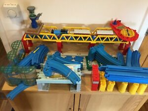 Tomy Thomas And Friends Trackmaster Track Bundle Working Engine 80 Items T2180