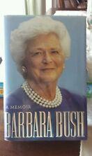 1ST EDITION ♡ SIGNED ♡ BARBARA BUSH : A Memoir by Barbara Bush ♡ 1994 HARDCOVER
