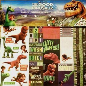 Good Dinosaur Disney Pixar Arlo Spot  Nash Ramsay Scrapbook Page Kit 12 x 12