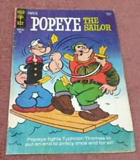 VINTAGE GOLD KEY COMIC BOOK POPEYE THE SAILOR NO 76 DATED 1965