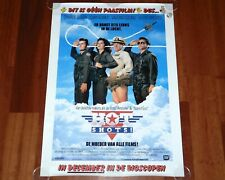 ORIGINAL MOVIE POSTER HOT SHOTS 1991 UNFOLDED DUTCH ONE SHEET