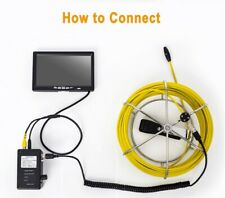 Eyoyo Dvr Pipe Inspection Camera Sewer Drain Video Plumbing System For Sewer
