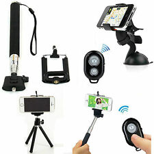 For Cell Phone,Monopod Tripod Mount + Bluetooth Wireless Remote Control+Holder