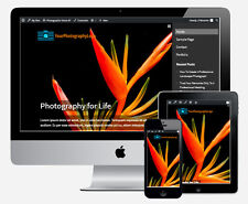 Pro Photography Business Website for Photographers Associations Clubs Schools