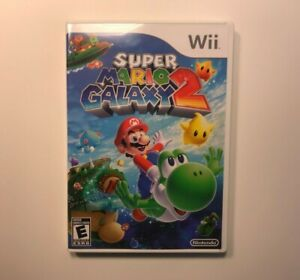 (CASE AND INSERTS ONLY) (WII) Super Mario Galaxy 2