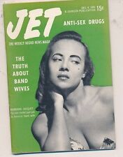 12/4/1952 JET MAGAZINE Anti-Sex Drugs Truth About Band Wives Illinois Jacquet