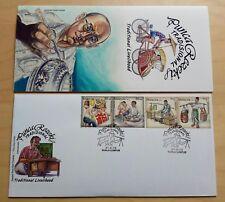 2012 Malaysia Traditional Livelihood 4v Stamp FDC (Kuala Lumpur Cachet)