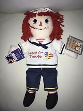 Aurora Raggedy Andy Support our Troops Doll