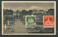 SBZ - Michel-Nr. 64-65 auf passender Karte mit Vor-Ersttagstempel
