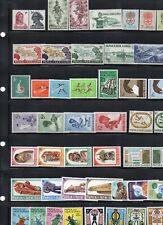 Papua New Guinea Superb range of Sets 1961-71 all MNH exept SG30-32 LMH