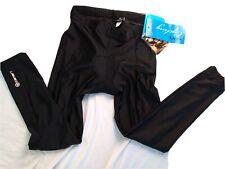 Canari Tight Padded Cyclewear Mens Black cycling Tights Pants Sz L NWT